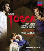 Chorus and Orchestra of the Opernhaus Zürich, Emily Magee, Jonas Kaufmann, Paolo Carignani, Thomas Hampson: Puccini: Tosca - BluRay