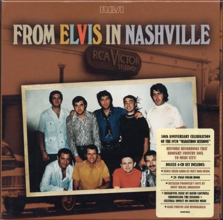 Elvis Presley: From Elvis In Nashville - CD