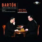 Antal Zalai, József Balog: Bartok: Complete Works for Violin Vol. 1 - CD