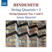 Amar Quartet: Hindemith: String Quartets Vol. 3 - CD