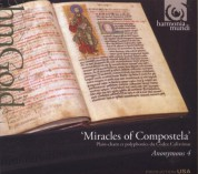 Anonymous 4: Miracles of Compostela - CD