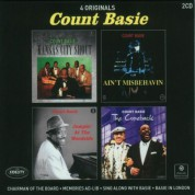 Count Basie: 4 Originals (Chairman Of The Board - Memories Ad-Lib - Sing Along With Basie - Basie In London) - CD