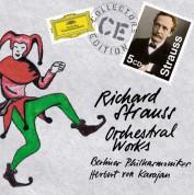 Berliner Symphoniker, Herbert von Karajan: Strauss, R.: Orchestral Works - CD