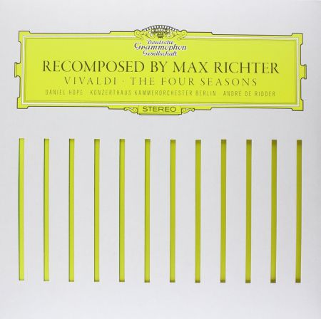 Max Richter, André de Ridder, Daniel Hope, Konzerthaus Kammerorchester Berlin: Vivaldi: Four Seasons Recomposed By Max Richter - Plak