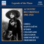 Çeşitli Sanatçılar: Legends of the Piano - Acoustic Recordings 1901-1924 - CD