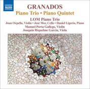 LOM Piano Trio: Granados: Piano Trio - Piano Quintet - CD