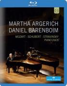 Martha Argerich, Daniel Barenboim: Piano Duos - BluRay