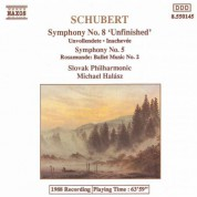 Slovak Philharmonic Orchestra: Schubert: Symphonies Nos. 5 and 8 / Rosamunde - CD