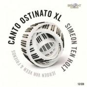 Jeroen van Veen, Sandra van Veen, Irene Russo, Fred Oldenburg, Aart Bergwerff, Esther Doornink, Peter Elbertse: Ten Holt: Canto Ostinato XL - CD