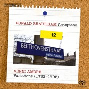 Ronald Brautigam: Beethoven: Complete Works for Solo Piano, Vol. 12 on forte-piano - Variations (II) - SACD