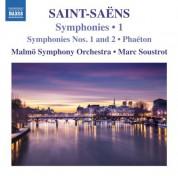 Malmö SymfoniOrkester, Marc Soustrot: Saint-Saëns: Symphonies, Vol. 1 - CD