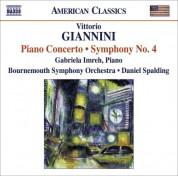 Daniel Spalding: Giannini, V.: Symphony No. 4 / Piano Concerto - CD
