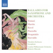 Ballades for Saxophone And Orchestra - CD