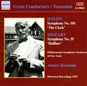 Haydn / Mozart: Symphonies (Toscanini) (1929) - CD