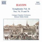 Haydn: Symphonies, Vol. 16 (Nos. 74, 75, 76) - CD