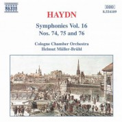 Haydn: Symphonies, Vol. 16 (Nos. 74, 75, 76) - CD
