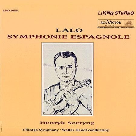 Henryk Szeryng, Chicago Symphony Orchestra: Lalo: Symphony Espagnole - Plak