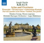 Monica Groop, Aapo Häkkinen, Helsingin Barokkiorkesteri: Kraus: Arias & Overtures - CD