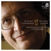 Freiburger Barockorchester, René Jacobs: Mozart: Symphonies nos.38 'Prague' & no.41 'Jupiter' - CD