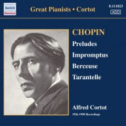 Chopin: 24 Preludes / 3 Impromptus (Cortot, 78 Rpm Recordings, Vol. 1) (1926-1950) - CD
