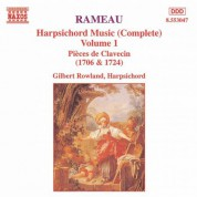 Rameau: Harpsichord Music, Vol.  1 - CD
