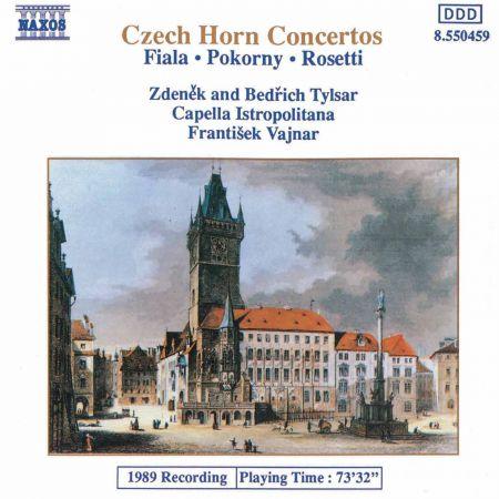 Fiala / Pokorny / Rosetti: Concertos for 2 Horns - CD