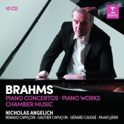 Nicholas Angelich: Brahms: Piano Concertos, Piano Works, Chamber Music - CD