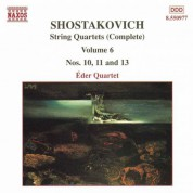 Shostakovich: String Quartets Nos. 10, 11 and 13 - CD