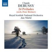 Jun Märkl: Debussy: Préludes, Books 1 & 2 (orch. Breiner) - CD