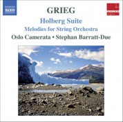 Grieg: Music for String Orchestra - CD