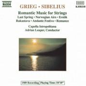 Capella Istropolitana: Grieg / Sibelius: Romantic Music for Strings - CD