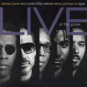 Stanley Clarke: Live At The Greek - CD