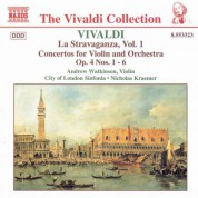 Vivaldi: Violin Concertos Op. 4, Nos. 1-6 - CD