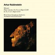 Artur Rubinstein, RCA Victor Symphony Orchestra, Alfred Wallenstein: Mozart: Piano Concertos No. 23 & 21 - CD