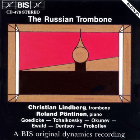 Christian Lindberg, Roland Pöntinen: The Russian Trombone - CD