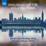 Sarah-Jane Bradley: English Music for Viola and Piano - CD