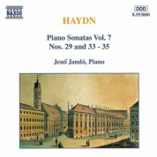 Haydn: Piano Sonatas Nos. 29 and 33-35 - CD