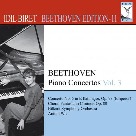 İdil Biret: Beethoven, L. Van: Piano Concertos, Vol. 3 (Biret) - No. 5, - CD