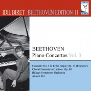 İdil Biret: Beethoven, L. Van: Piano Concertos, Vol. 3 (Biret) - No. 5, - CD
