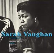 Sarah Vaughan, Clifford Brown: Sarah Vaughan With Clifford Brown + 1 Bonus Track! Limited Edition in Transparent Blue Virgin Vinyl. - Plak