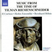 Music From The Time Of Tilman Riemenschneider - CD