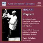 Victor de Sabata: Mozart: Requiem in D Minor (Tassinari, Tagliavini, De Sabata) (1941) - CD