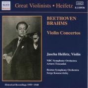 Beethoven / Brahms: Violin Concertos (Heifetz) (1939-1940) - CD