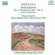 Moyzes Quartet: Smetana: String Quartets Nos. 1 and 2 - CD