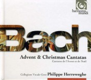 Philippe Herreweghe: J.S. Bach: Advent Cantatas + Christmas Cantatas - CD