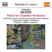 Francesc Guillen: Homs: Music for Chamber Orchestra - CD