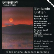 Christoph Prégardien, Ib Lanzky-Otto, Tapiola Sinfonietta, Osmo Vänskä: Britten: Sinfonietta, Serenade - CD