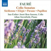 Ina-Esther Joost Ben-Sasson: Faure, G.: Music for Cello and Piano - CD