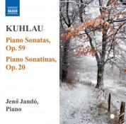 Jeno Jando: Kuhlau: Piano Sonatas, Op. 59 / Piano Sonatinas, Op. 20 - CD