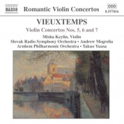 Misha Keylin: Vieuxtemps: Violin Concertos Nos. 5, 6 and 7 - CD